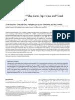 RTS Game Improve Visual Preceptual Learning