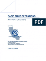 Basic Pump Operations.instructor Guide