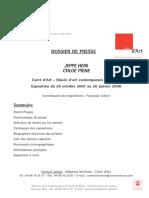 Media Fichier Piene.hein.Dossier.de.Presse