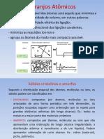 AULA02 - ESTRUTURAS CRISTALINAS