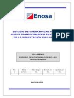 Agosto 2017 Vol. III - Protecciones (Chulucanas)