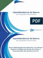 Nueva Metodología de Supervisión Con Enfoque Basado en Riesgos de LA- FT