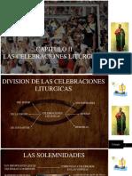 CELEBRACIONES LITÚRGICAS DE LA IGLESIA CATÓLICA