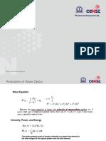 Lecture 3 Wave Optics