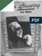 Shearing, George - Interpretations for Piano