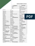 grupos farmacologicos 1