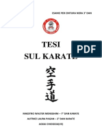 Tesi Sul Karate (Laura Pagan)
