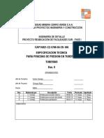 CAP15021-C2-5700-50-CS-108 Rev 0 - Prueba de Presion en Tub