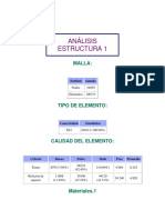 Reporte Estructura 1