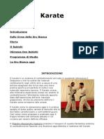 Karate - Sulle Orme della Gru Bianca (Castiglia)