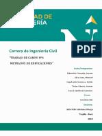 Informe Construccion Campo 4