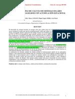 metodo para el calculo de celdas foto voltaicas