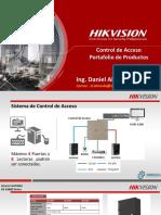 Hikvision C.acceso BasicoComercial Tecnico MARZO 2019