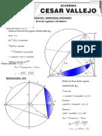 Semestral Intensivo - Area de regiones circulares