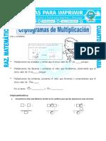 Criptogramas de matematica