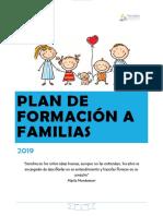 Plan de Formación a Familias Completo 2019