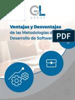 Ventajas y Desventajas de Las Metodologas de Desarrollo de Software