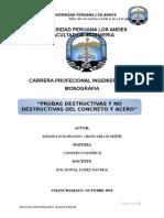 monografia  de pruebas destructivas y no destructivas