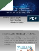 Diapositiva de Mercadeo