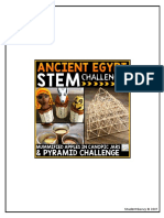 Ancient Egypt Stem Challenges