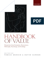 handbook of value