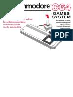 Commodore 64 GS - Instalación Rápida (en,Fr,It,De,Es,Nl)