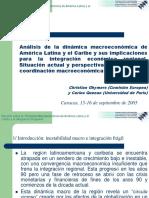 Análisis de La Dinámica Macroeconómica de América Latina y El Caribe