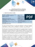 Syllabus del curso Química General (1)