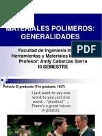 Clases de Polimeros Sep. 2018