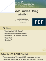 Volt VAR Studies Using WindMil - Jim Cross