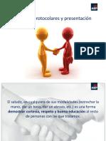 4 Saludos Protocolares y Presentaciones