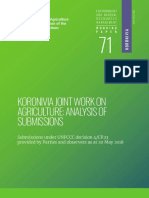 Koronivia Joint Work on Agriculture