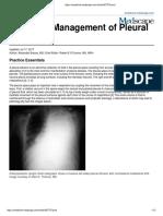 Pleural Effusion Management Medescape 2