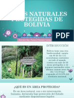 Áreas Naturales Protegidas de Bolivia