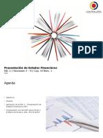 2. Presentaciones de Estados Financieros