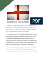 Constitución de Inglaterra