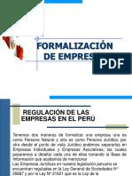 formalizacion de Empresa