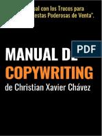 Manual de Copywriting de Christian Xavier Chávez