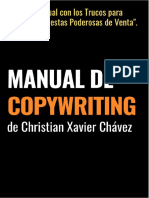 Manual de Copywriting de Christian Xavier Chávez
