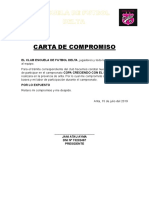 Carta de Compromiso de Participacion