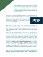 Los núcleos de desarrollo endógeno son idea y creación de la revolución bolivariana en Venezuela.docx