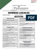 """Cuadernillo del Diario """"El Peruano"""""""