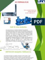 Presentaciones Maquinas Hidraulicas (1)