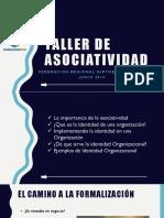 Taller Asociatividad 2019