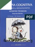 Terapia cognitiva conductual en niños y adolescentes