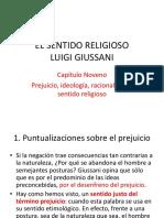 EL SENTIDO RELIGIOSO. Cap. 9 Prejuicio, ideología, racionalidad y sentido religioso.pptx
