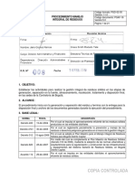 Pgaf-16 Proced Manejo Integral de Residuos Modelo 1