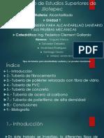Exposicion - Alcantarillado - Tipos de tuberias para alcantarillado sanitario - Equipo 6.pptx