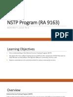 Chapter 1 NSTP Program