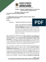 RECURSO ADMINISTRATIVO DE APELACIÓN CONTRA SILENCIO ADMINISTRATIVO